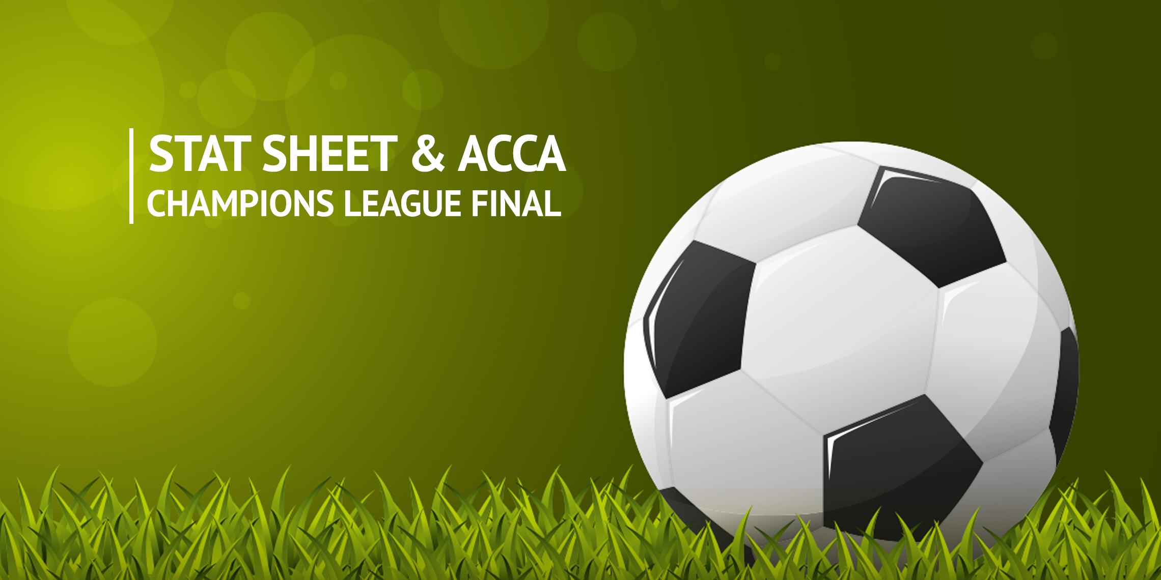 Champions League Final - Man City v Chelsea Acca and Stat ...